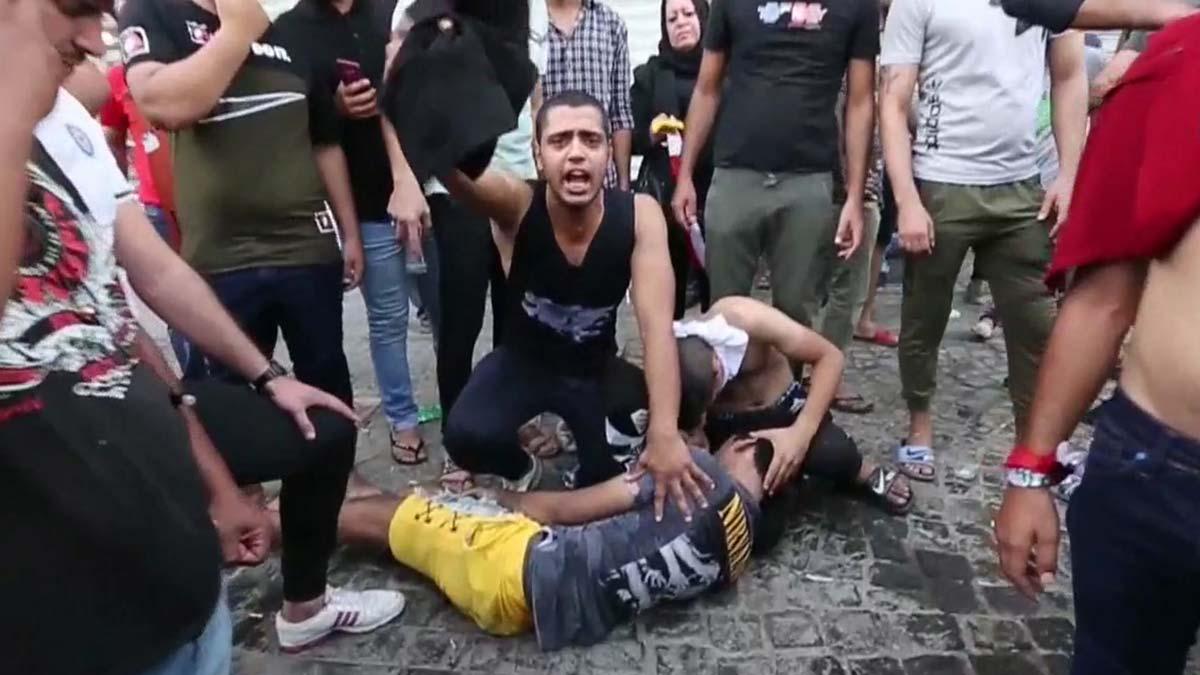 Al menos 19 muertos en las protestas populares en Irak - GG Noticias